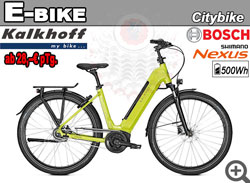 Radverleih CITY E-BIKE